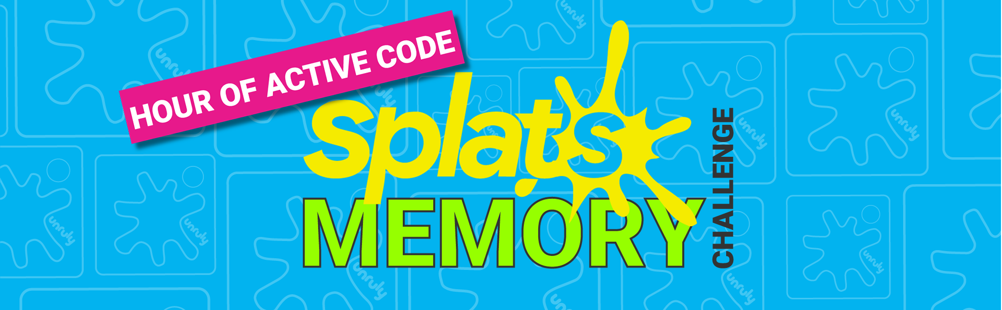Hour of Active Code Splats Memory Challenge Lesson Plan