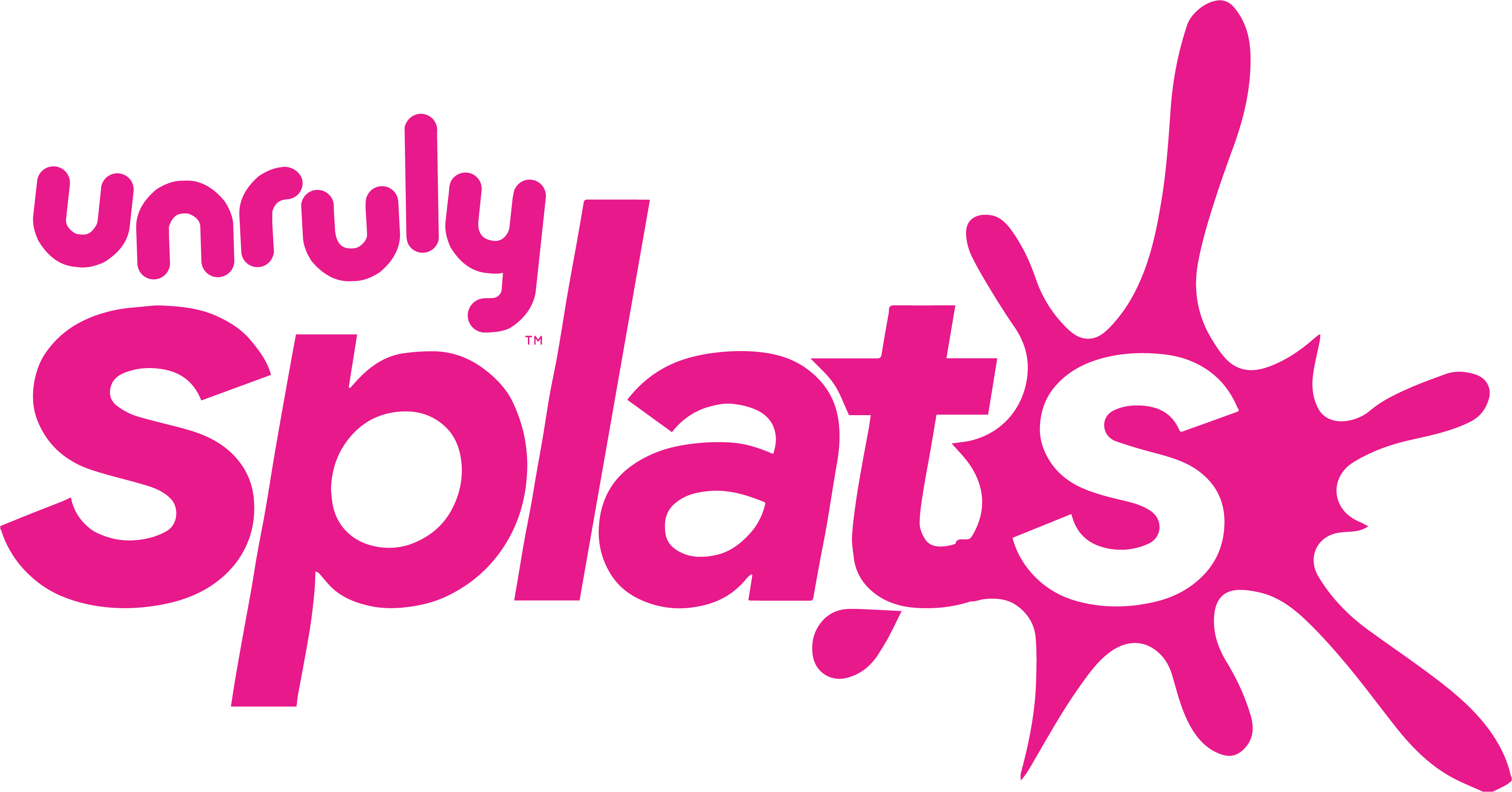 Unruly Splats logo