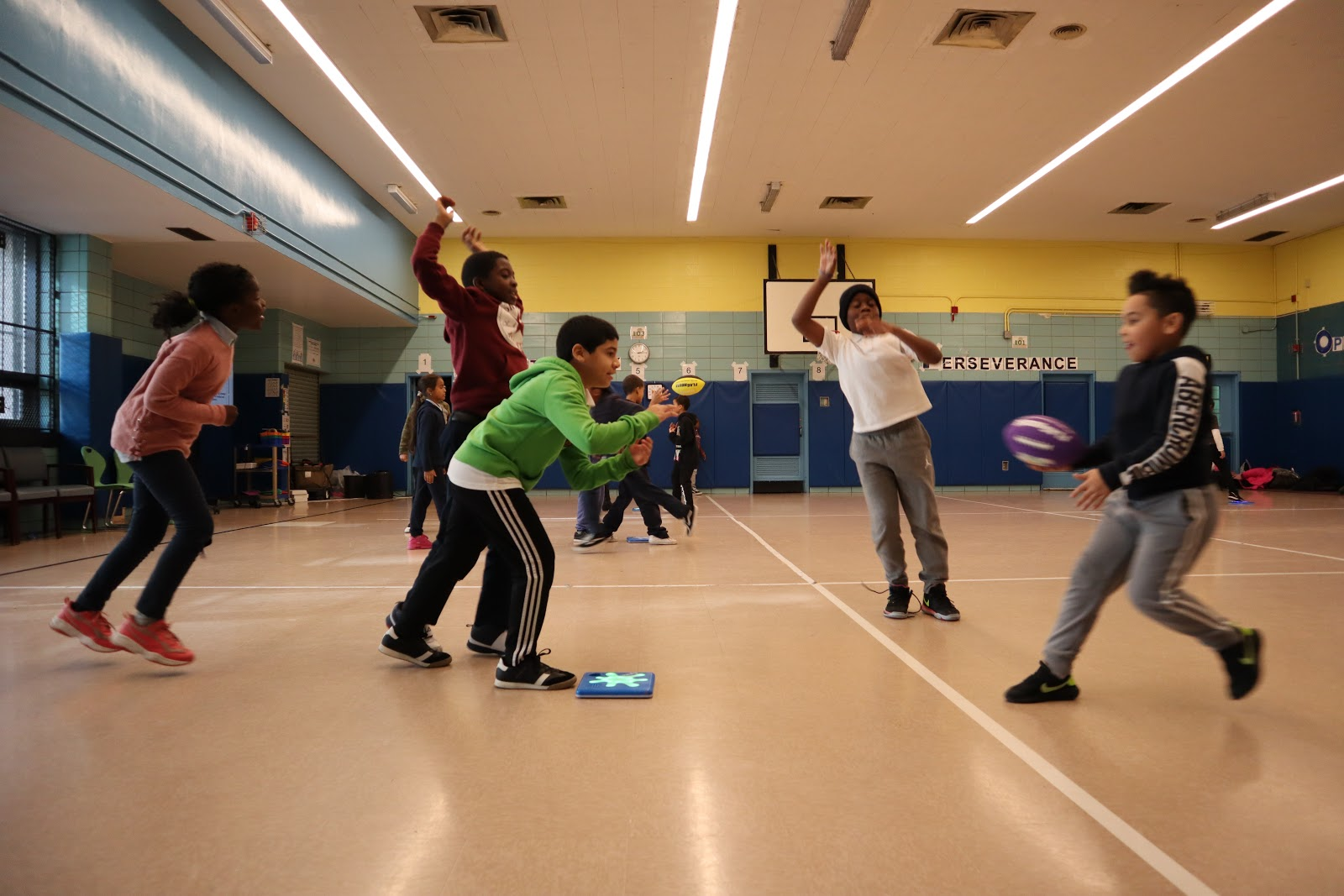 Students in the Bronx, NY bring computer science to their PE class with Splats.