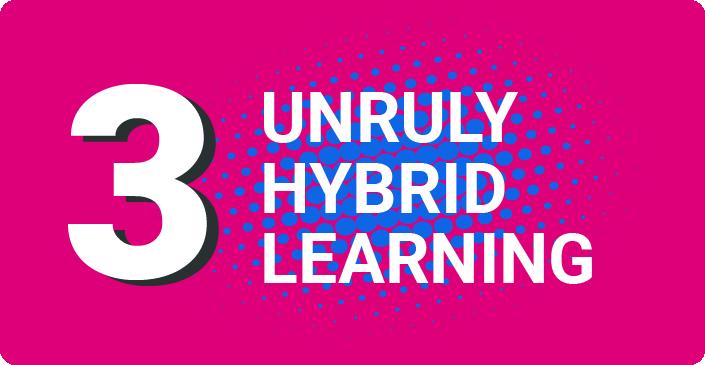 Step 3 Unruly Hybrid Learning