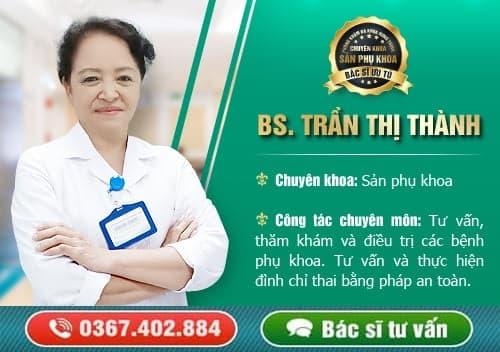 bác sĩ tư vấn sản phụ khoa