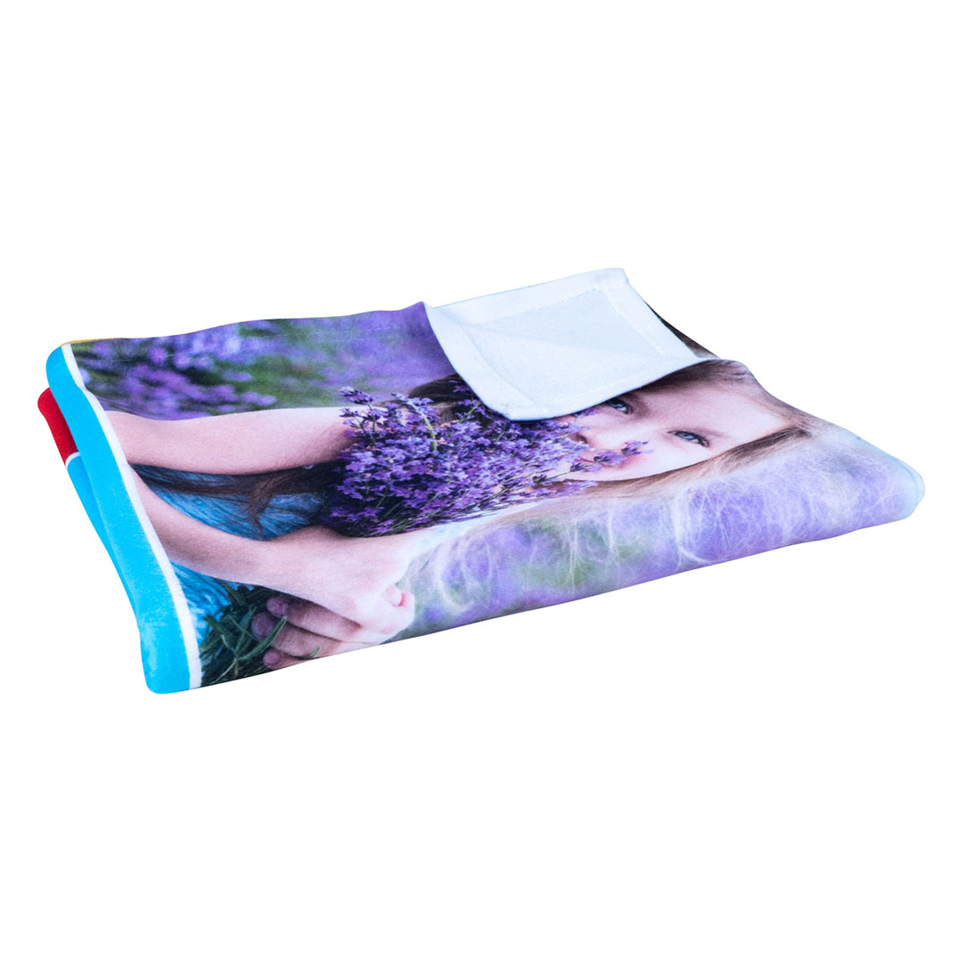 Folded Photo Blanket