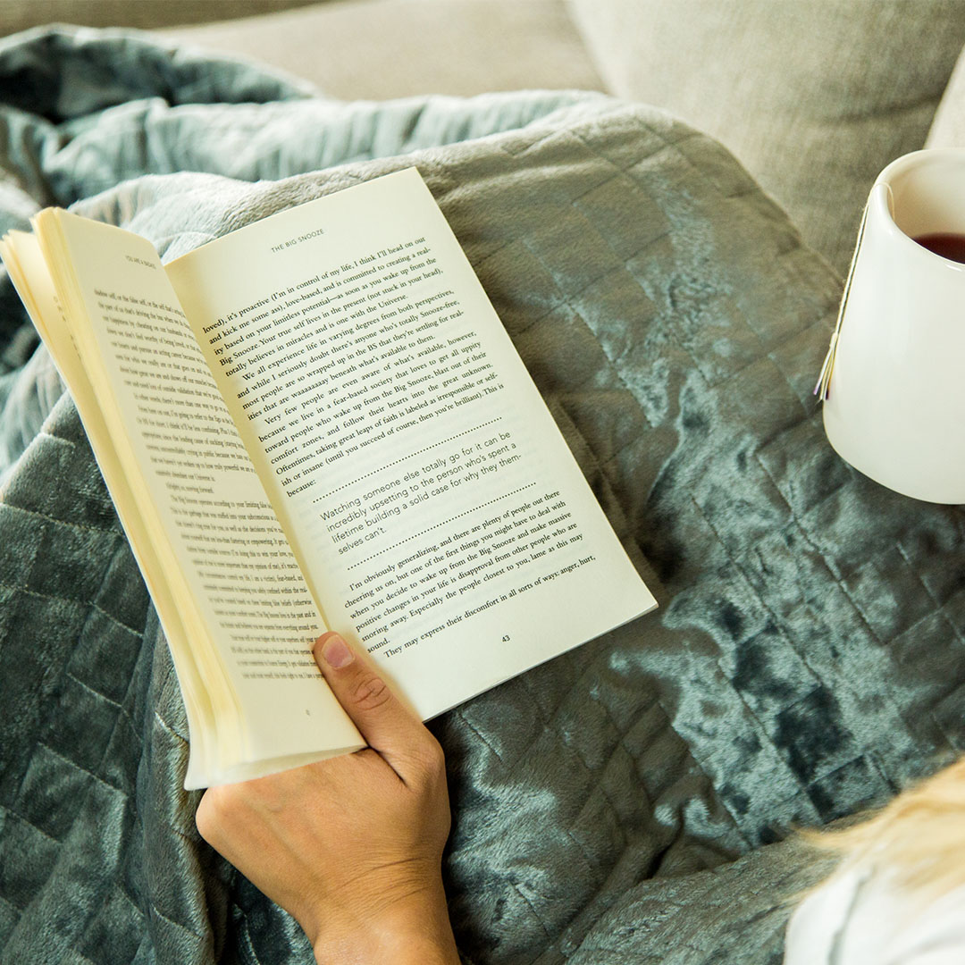 Blanket with Book