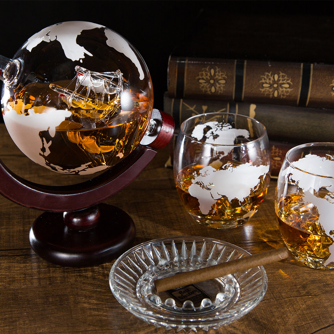 Whisky Glass Decanter