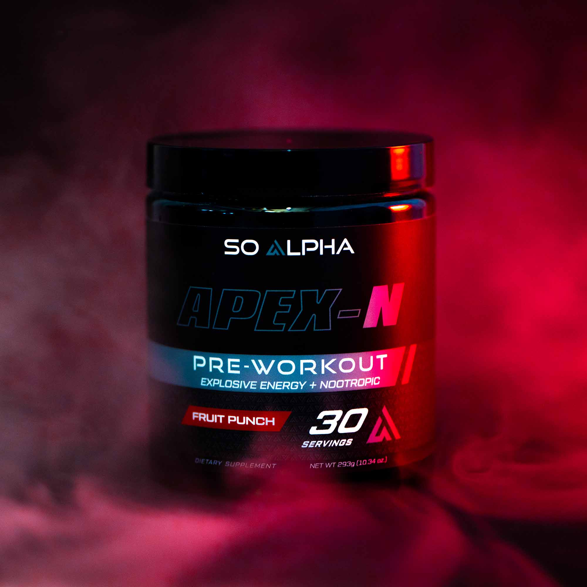 Supplement Product Photo with Effects