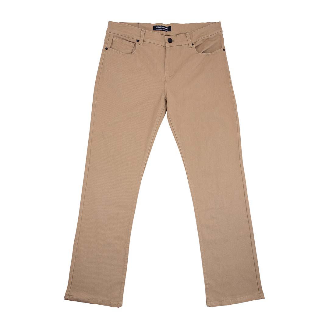 Brown Pant Lay Flat