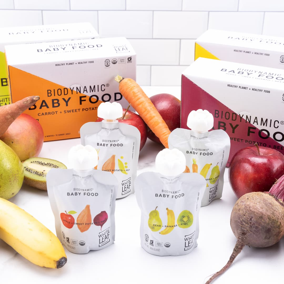 White Leaf Provisions Baby Food