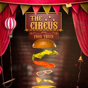 Produção de fotos, ilustração 3D e design gráfico: O Hamburguer Acrobático | Cliente: The Circus Burger