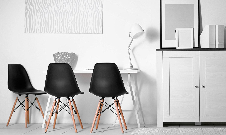Cadeira Eames Vermelha 3D