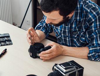 Digital Camera Sensor Cleaning