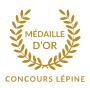 Logo de la médaille d'or au concours Lépine