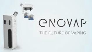 Image du site de la startup enovap.com