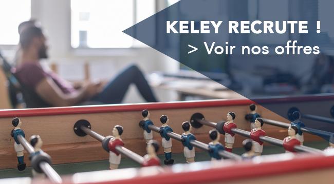 Image des bureaux Keley et renvoie vers le site Recruitee