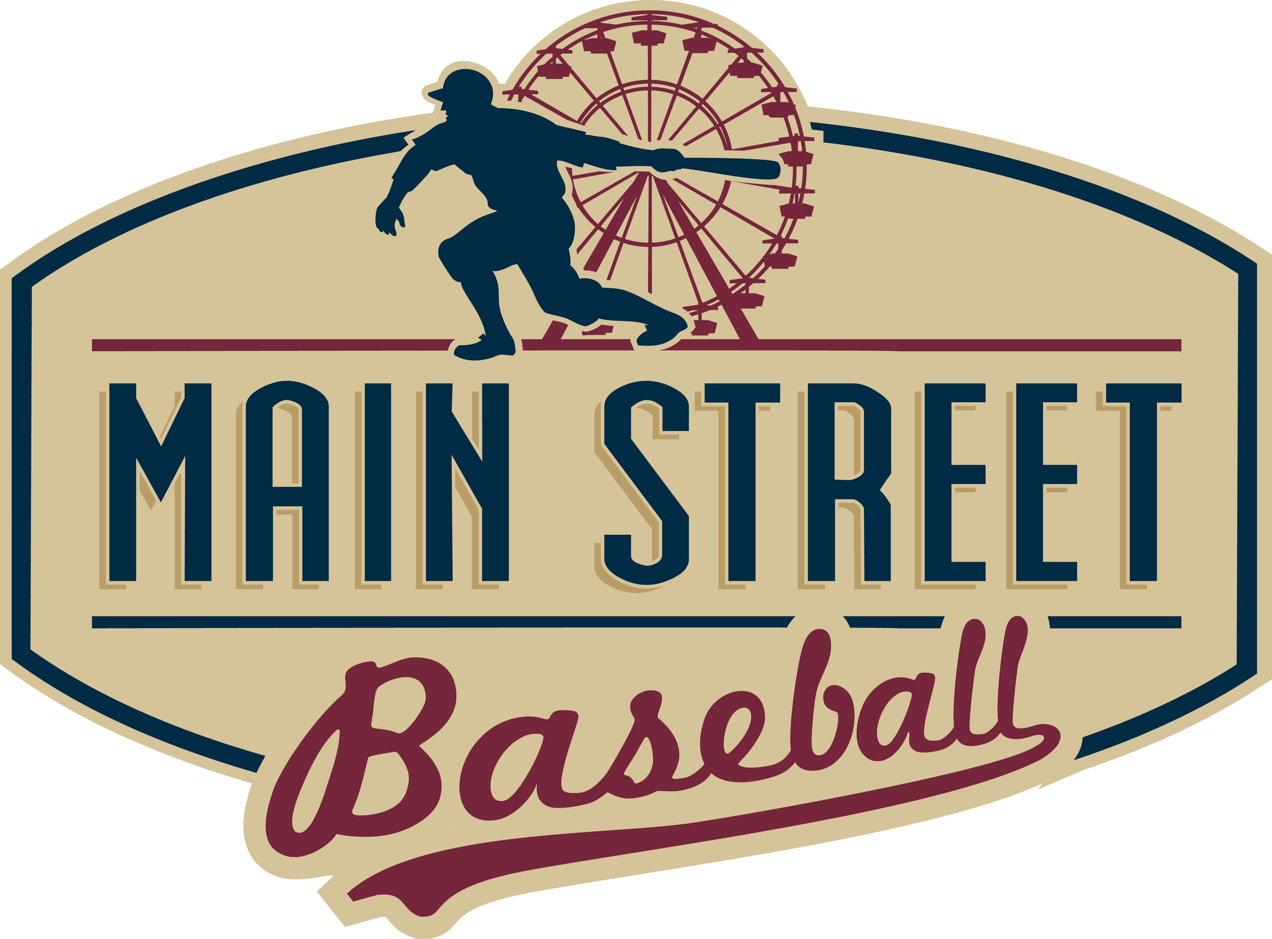 Main Street Baseball Logo