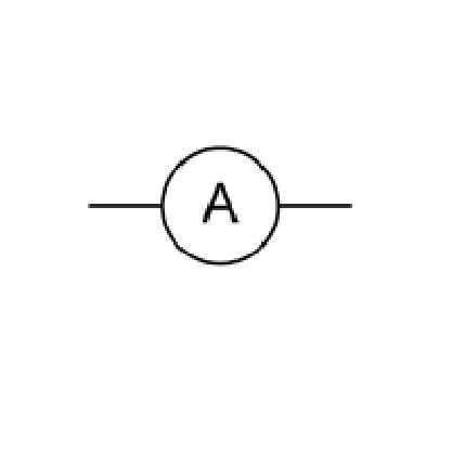 An ammeter