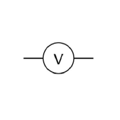 A voltmeter