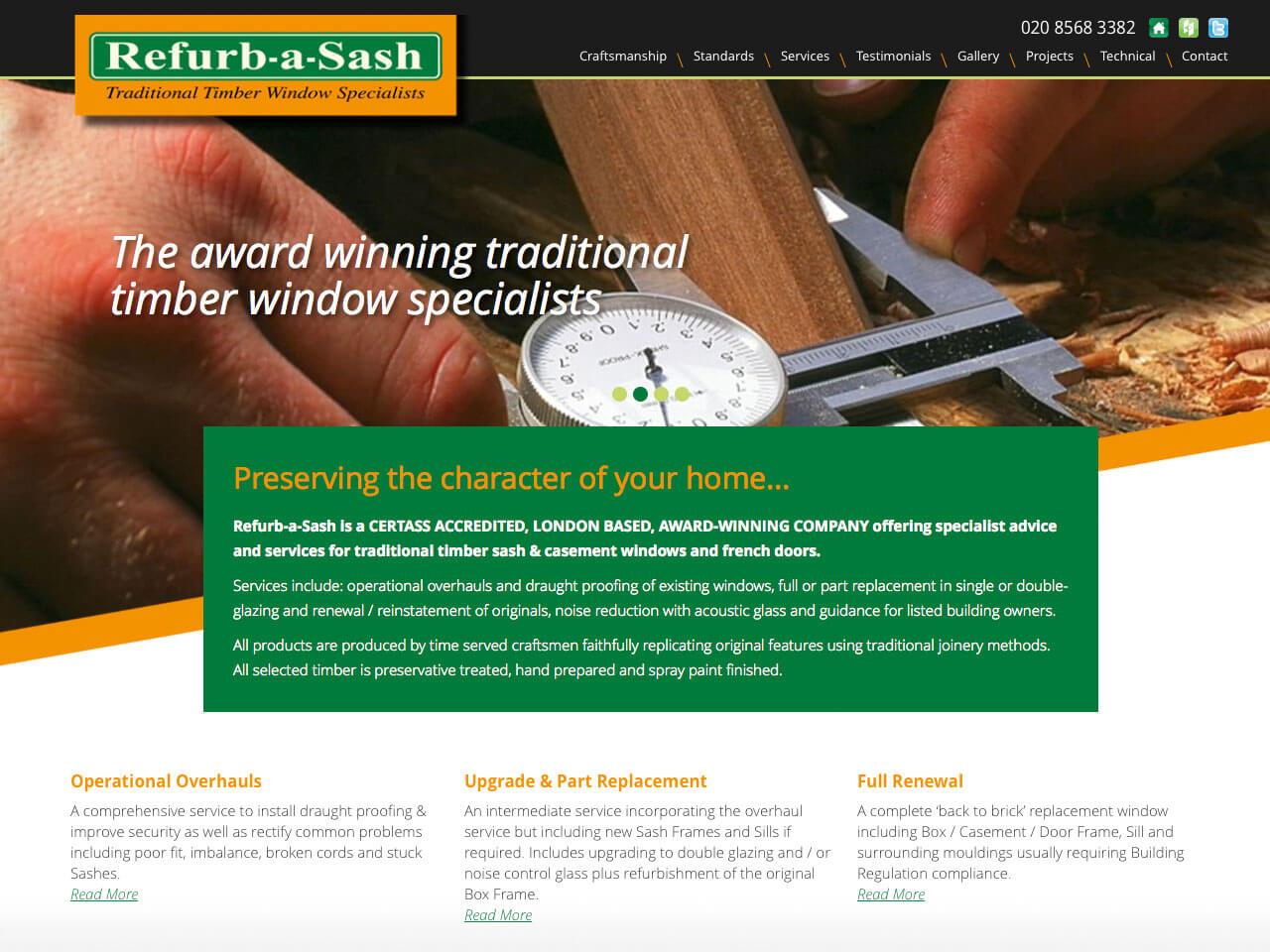 Spotlight On: Refurb-a-Sash