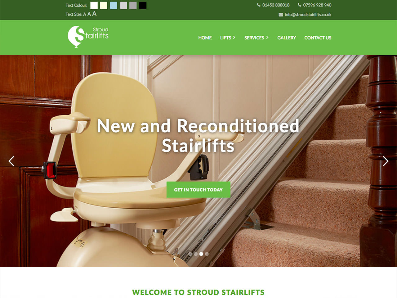 Spotlight On: Stroud Stairlifts