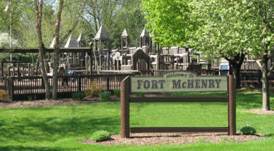 Fort McHenry playground