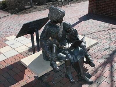 Tinley Park statue