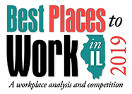 Best Places to Work in IL 2019 logo
