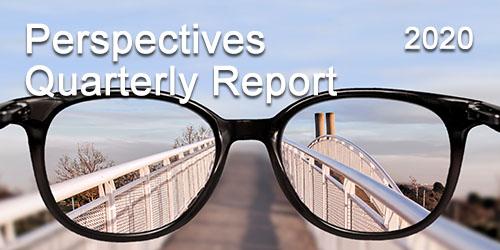 Eyeglasses bring a bridge in focus