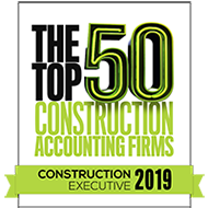 Named a Top 50 Construction Accounting Firm