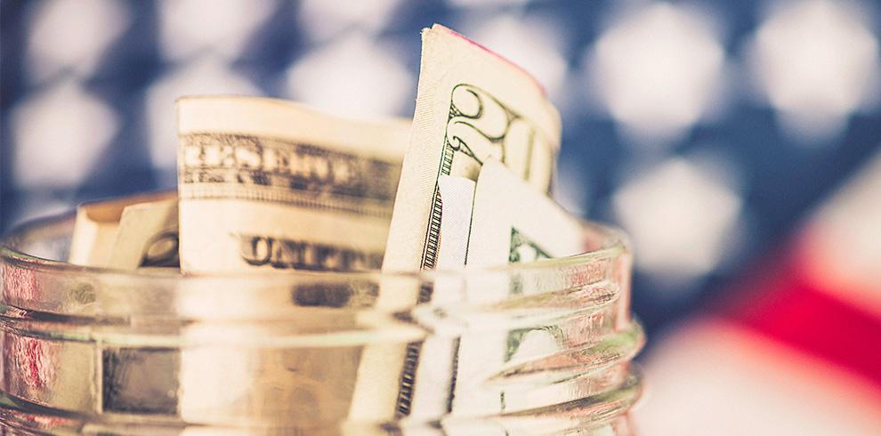 Jar of cash - Sales Tax Deferral Announced