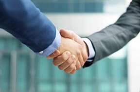 Business consulting - Working hand-in-hand with our clients.