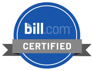 Bill.com Certified emblem