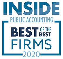Inside Public Accounting Best of the Best 2020