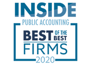 Inside Public Accounting Best of the Best Firms 2020