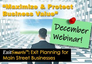 ExitSmarts - December Webinar