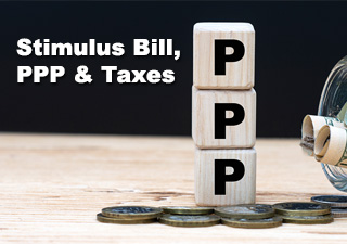 PPP Webinar - Stimulus Bill, Paycheck Protection Program & Taxes