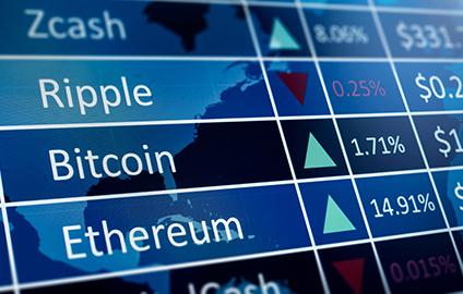 cryptocurrencies price index