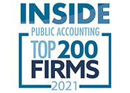 Inside Public Accounting - Top 200 Firms 2021