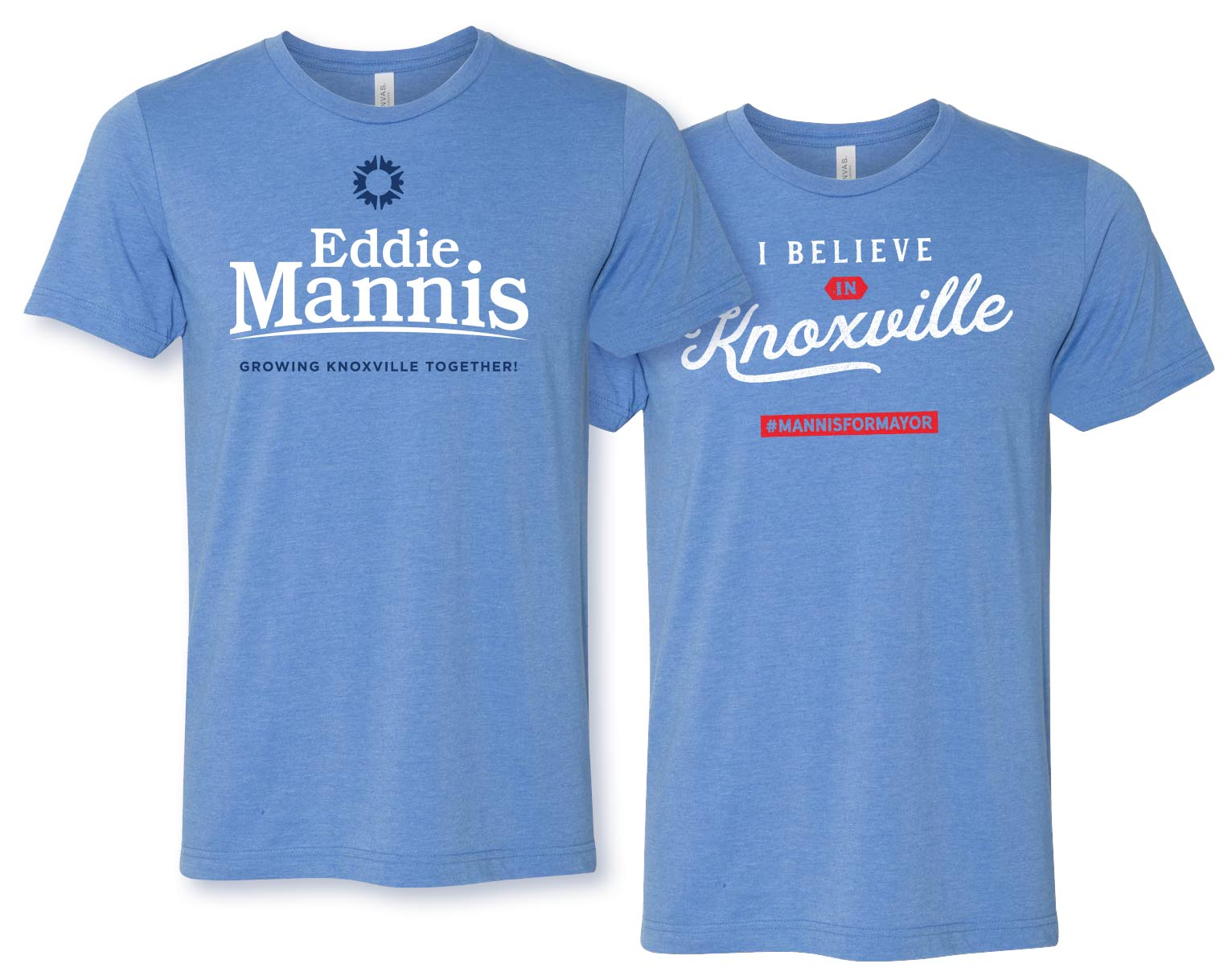 Eddie Mannis For Mayor Tee Shirts