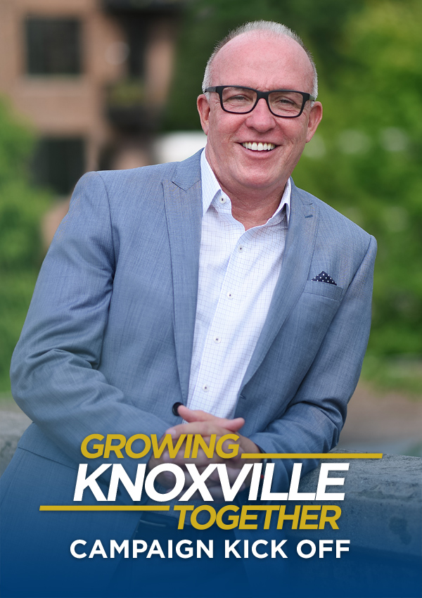 Photo of Eddie Mannis for Knoxville City Mayor
