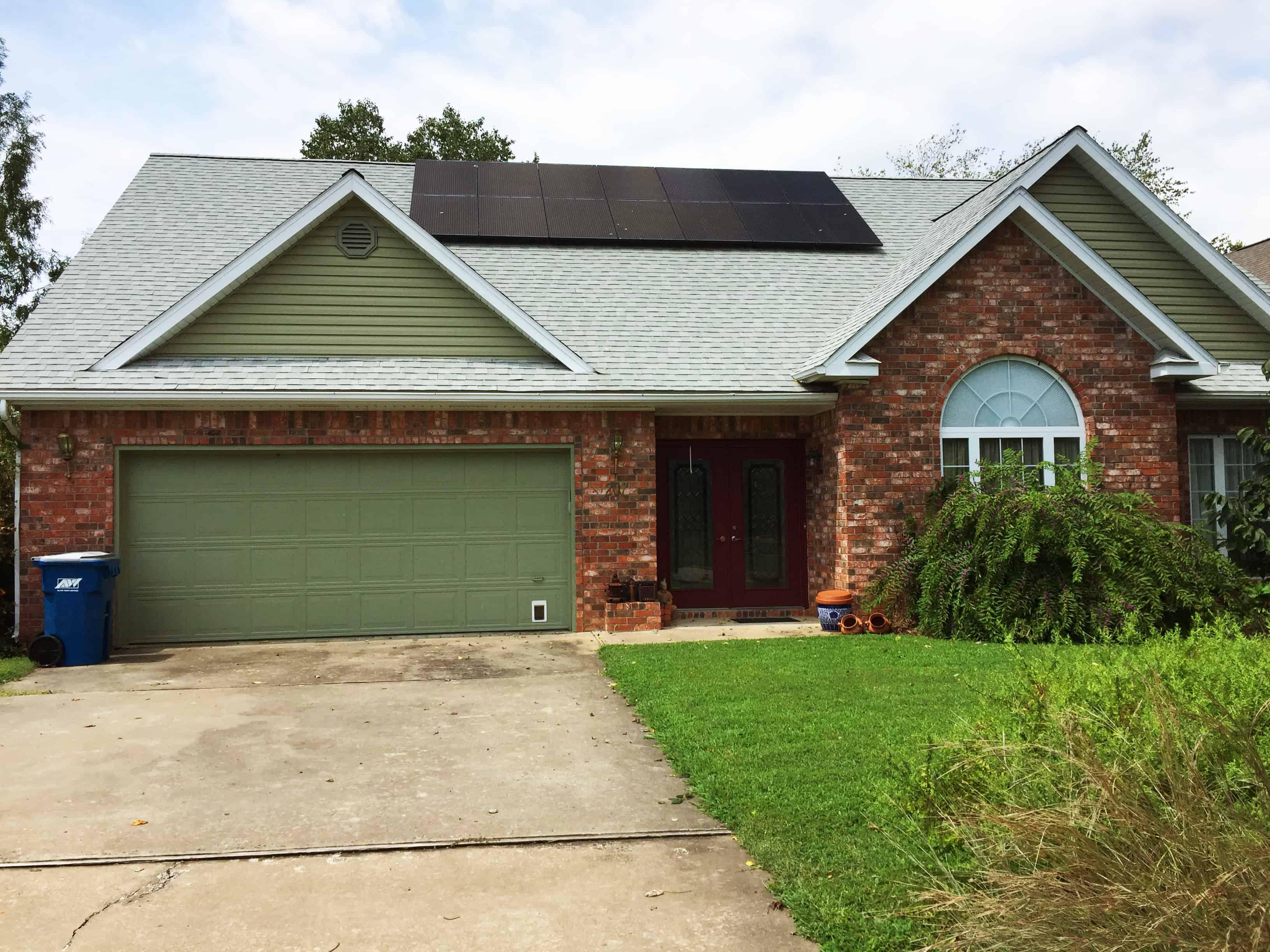 Northwest Arkansas solar panel installer