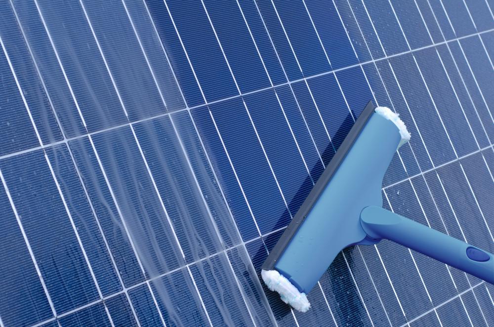 solar panel wash