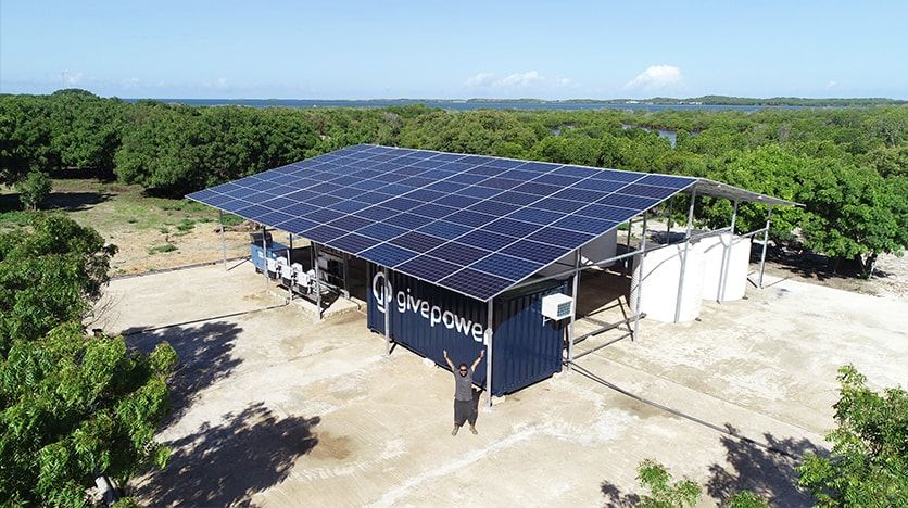 GivePower Water Farm