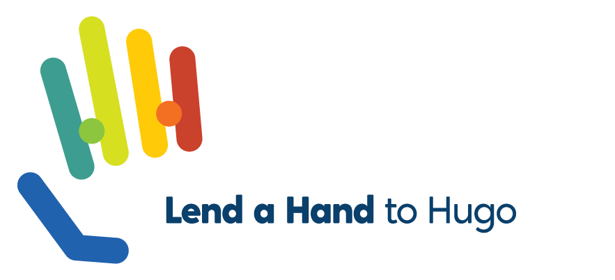 lend a hand to hugo logo