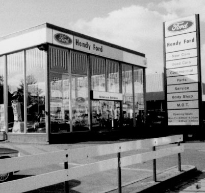 Old Hendy showroom