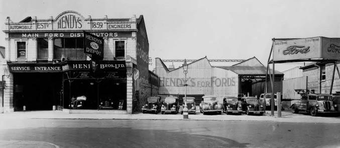 Old Hendy Group showroom