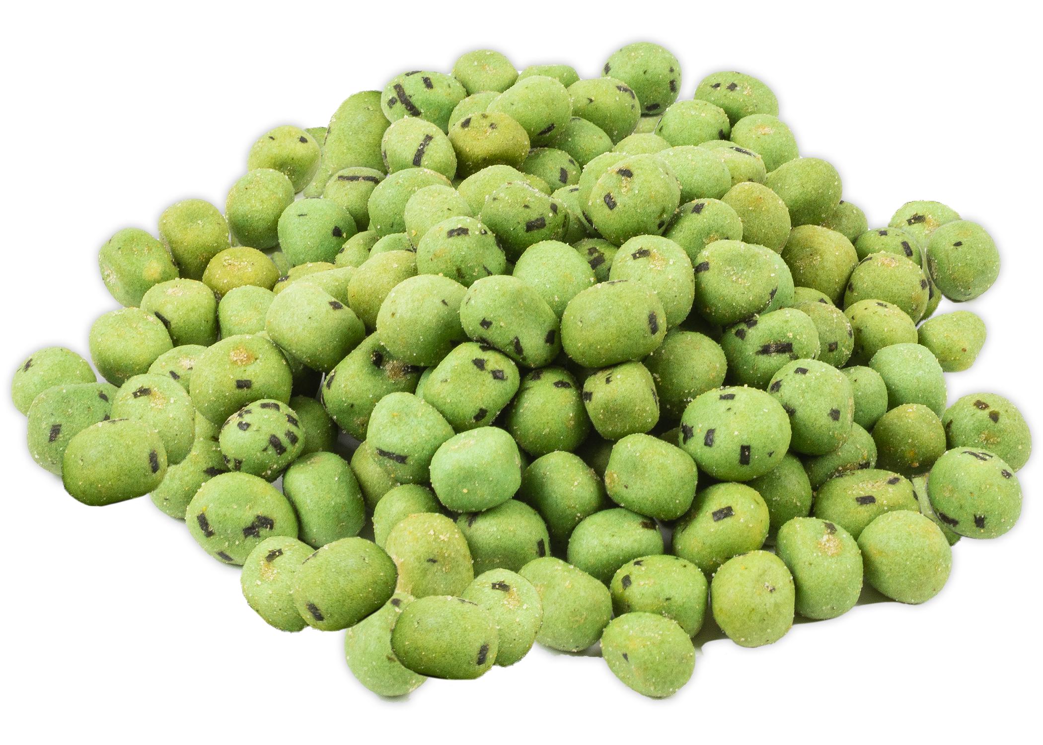 pile-wasabi-coated-peanuts