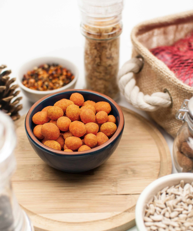 contectual-ramekin-spiced-chilli-coated-peanuts