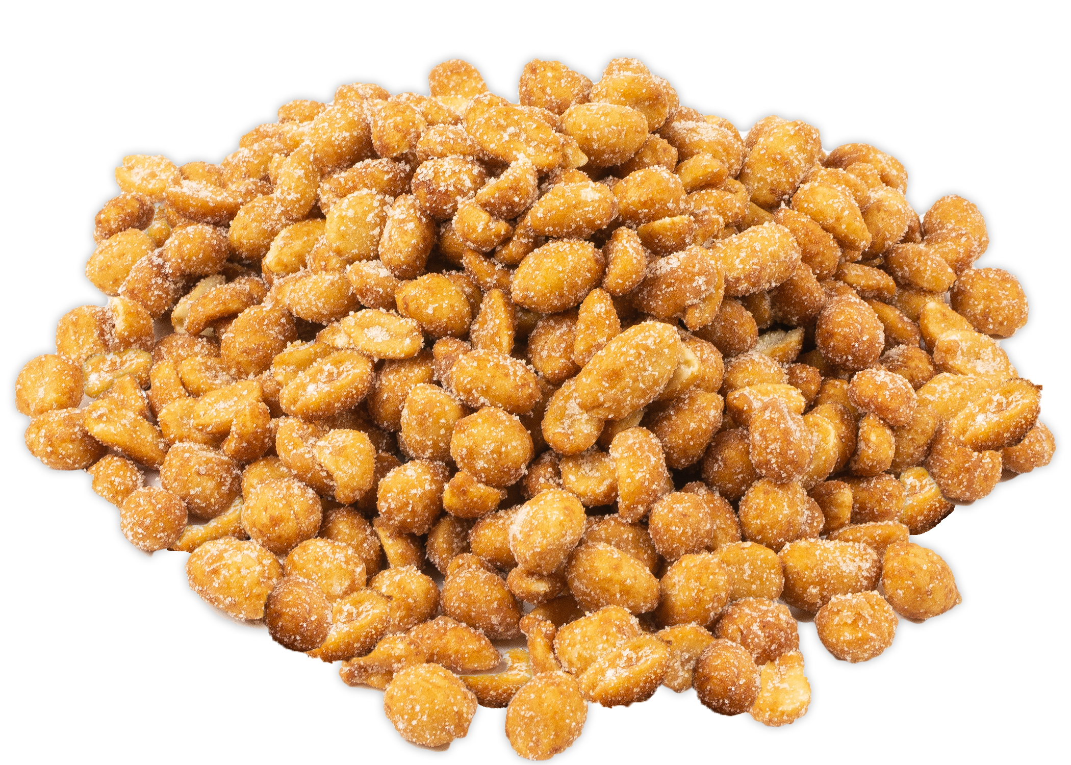 pile-honey-roasted-peanuts