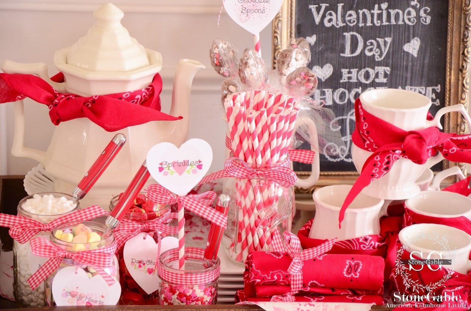 VALENTINE'S DAY HOT CHOCOLATE BAR - StoneGable | Hot chocolate bars, Valentine  chocolate, Chocolate bar