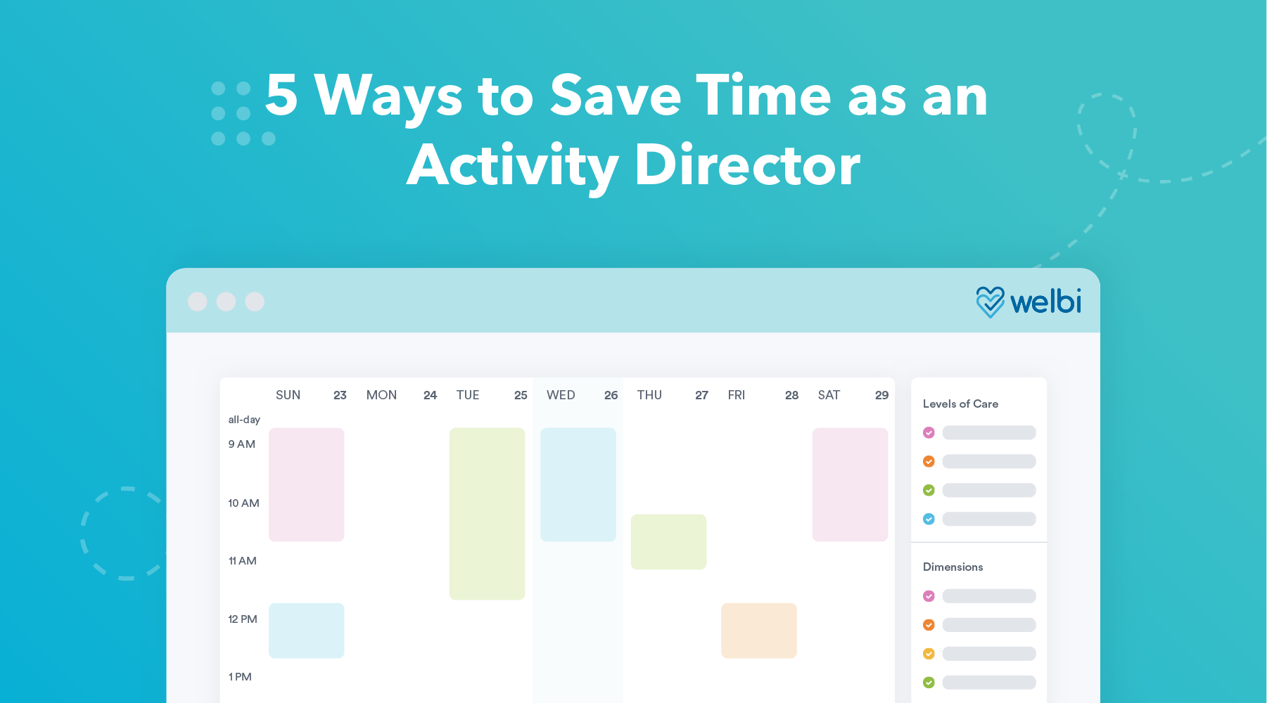 5 Ways to Save Time as an Activity Director