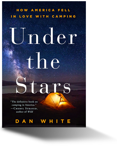 Book cover of Under the Stars by Dan White